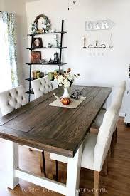 diy farmhouse style dining table home farmhouse farmhouse dining table round farmhouse dining table set