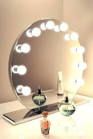 led lighted makeup mirror australia with light bulbs mirrors lights best ideas on within round vanity decor ligh