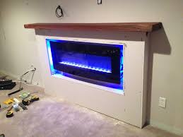 Electric Fireplace Mantle - RENEW Complete Home Services
