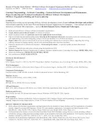 Dot Net Resume Sample Curriculum Vitae Example Dot Net Developer