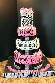 40th Bday Party Cakes Raspberry Ripple Cake 40th Birthday Cakes