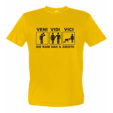 Tshirt Sprüche Awesome Jga Sprüche T Shirt Veni Vidi Vici