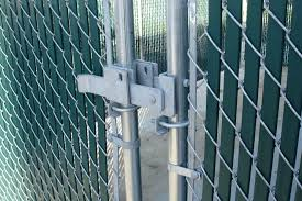 chain link fence gate latch install