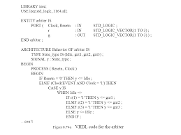 Vhdl Code For Vending Machine With State Diagram Amazing CSEE 48 Fundamentals Of Digital System Design Chris J Myers