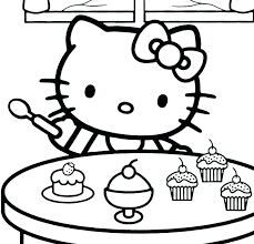 Hello Kitty Valentines Day Coloring Pages Nightcode Info