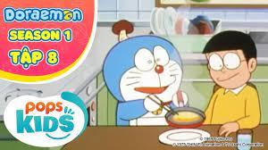 S1] Hoạt Hình Doraemon Tiếng Việt - Tập 8 - Nấm Tài Năng - Hôm