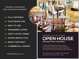 open house flyers template house flyer template oyle kalakaari co