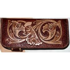 pdf leather craft pattern long wallet pattern leather purse pattern instant western 2 leather tracking patterns