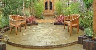how to lay a circular patio inspiration