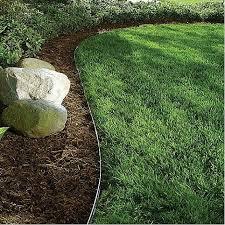 aluminum lawn edging b rocke landscaping winnipeg manitoba