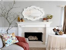mirror over fireplace. decorative mirrors for above fireplace endearing small room living on mirror over f