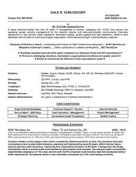 Linux Administration Sample Resume 14 Kronos Systems Administrator