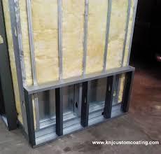 powder coating oven insulation