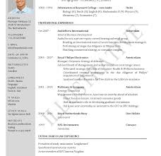 Resume Templates Models In Word Format For Freshers Free Download Hr