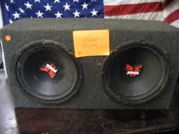 speakers in box. 49 2 -12\ speakers in box u
