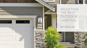 outdoor lighting is an easy cost effective way to add beauty safety and security to your home understanding which outdoor lights work best with your