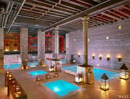 Water Spa Aire Ancient Baths Opens In Manhattan Vogue Aire Baths In Tribeca