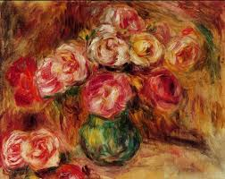 vase of flowers ii oil painting for select your favorite pierre auguste renoir vase of flowers ii painting on canvas or frame at