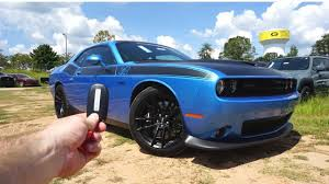 Light Blue Challenger 2018 Dodge Challenger T A 392 Start Up Exhaust Test Drive And Review