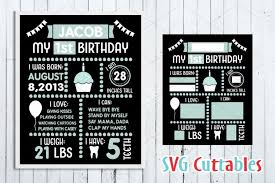 A free vector illustration pack of elections, debates, voting, and politics, both in the us and worldwide. Birthday Board Svg Cut File 20369 Cut Files Design Bundles