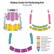 Color Purple Seating Chart Tickets The Color Purple Saint Paul Mn At Ticketmaster
