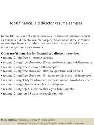 topfinancialaiddirectorresumesamples lva app thumbnail jpg cb