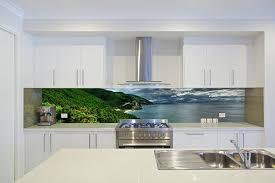 Printed Glass Kitchen Splashbacks kitchen