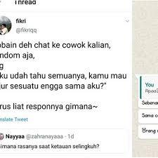 Buka whatsapp, lalu verifikasi nomor anda. 7 Chat Ngeprank Ke Pasangan Ini Ujungnya Malah Bikin Nyesek Hot Liputan6 Com