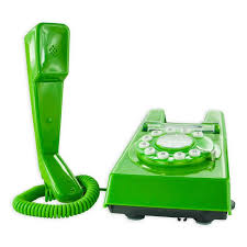 geemarc green trimline retro corded