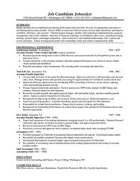 Accounts Payable Resume Example 63 Images 1000 Images About