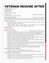 Army Resume Builder New Military To Civilian Resume Builder