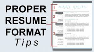 examples of resumes proper resume format resume formatting tips youtube throughout formatting a resume 93 resume format tips