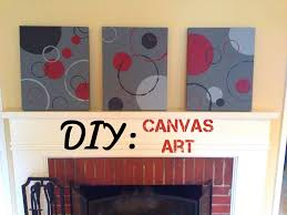 Diy Canvas Art Diy Canvas Art Circles Bulldogs And Brown Sugar