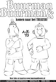 Kleurplaatactie Buurman En Buurman Nationale Theaterkassa 0900
