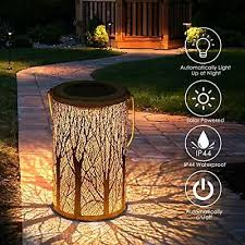 tencoz solar lantern outdoor