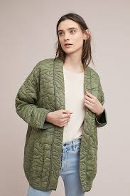 Quilted Kimono Jacket | Anthropologie & Slide View: 1: Quilted Kimono Jacket Adamdwight.com