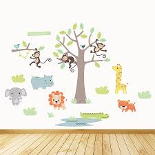 safari wall decals uk wall stickers decals