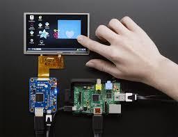 5 0 40 pin tft display 800x480 touchscreen id 1596 adafruit tfp401 hdmi dvi decoder to 40 pin ttl display