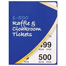 images of raffle tickets cloakroom or raffle tickets numbered 1 500 assorted colours pack 12
