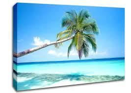 beach tropical island canvas art on tropical wall art uk with tropical island beach canvas stretched canvas