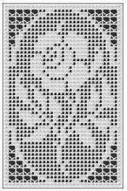 How To Crochet A Beautiful Rose Flower In Filet Crochet