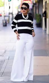 DIY WIDE LEG WINTER WHITE PANTS Mimi G Style