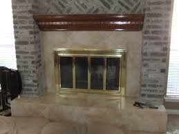 could use some suggestions for removing thinset from brick fireplace rework start
