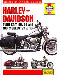 Harley-Davidson Twin Cam 88/96/103 Repair Manual 1999-2010 - Haynes