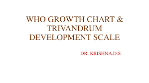 Who Growth Chart