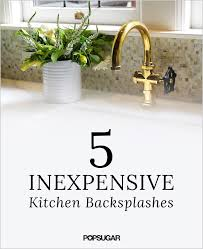 5 Inexpensive Items That Make For Gorgeous Kitchen Splashbacks