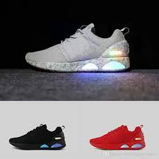 back to the future airs mag men s low top led shoes breathable fashion casual shoes mag mens shoes