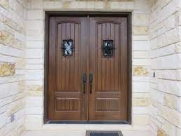 to clean and maintain your front door