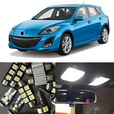 2011 Mazda 3 License Plate Light Us 9 78 11 Off 9pcs Car Led Light Bulbs Kit For Mazda 3 2010 2011 2012 Sedan Or Hatchback 12v Ultra Bright Map Dome License Plate Lamp No Error In
