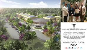 Campus Design Lubbock Tx Department Of Landscape Architecture Landscape
